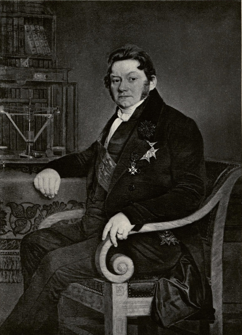 Portrait of Berzelius. Edgar Fahs Smith Collection, Kislak Center for Special Collections, Rare Books and Manuscripts, University of Pennsylvania