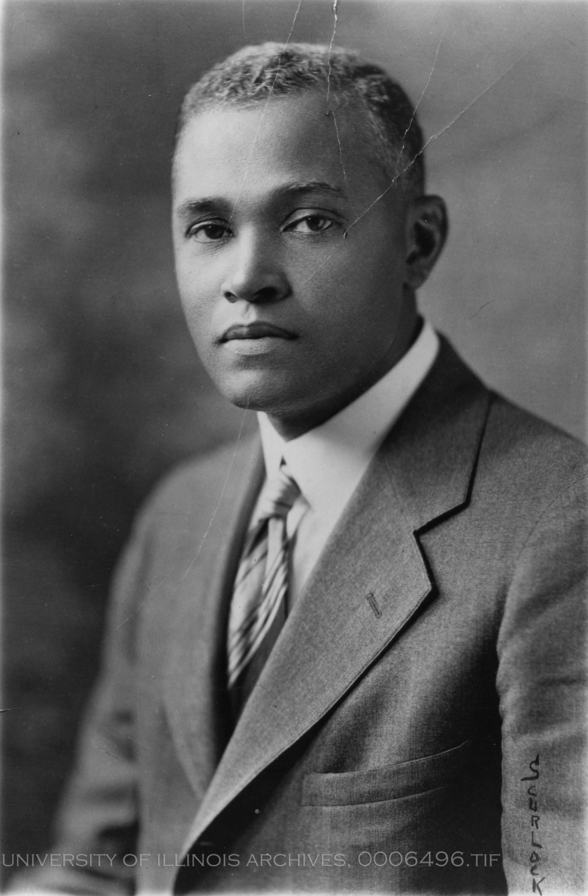 Portrait of St. Elmo Brady, undated. Courtesy University of Illinois Archives.