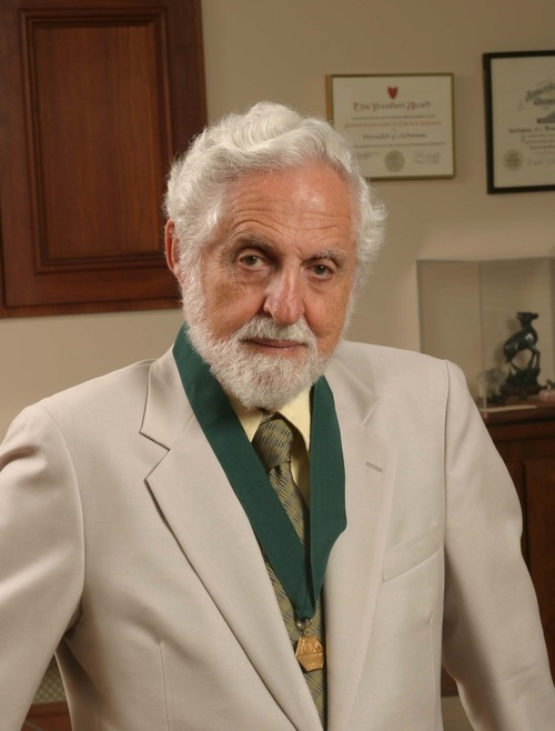 Carl Djerassi. The Institute Collections. Photo by Douglas A. Lockard.