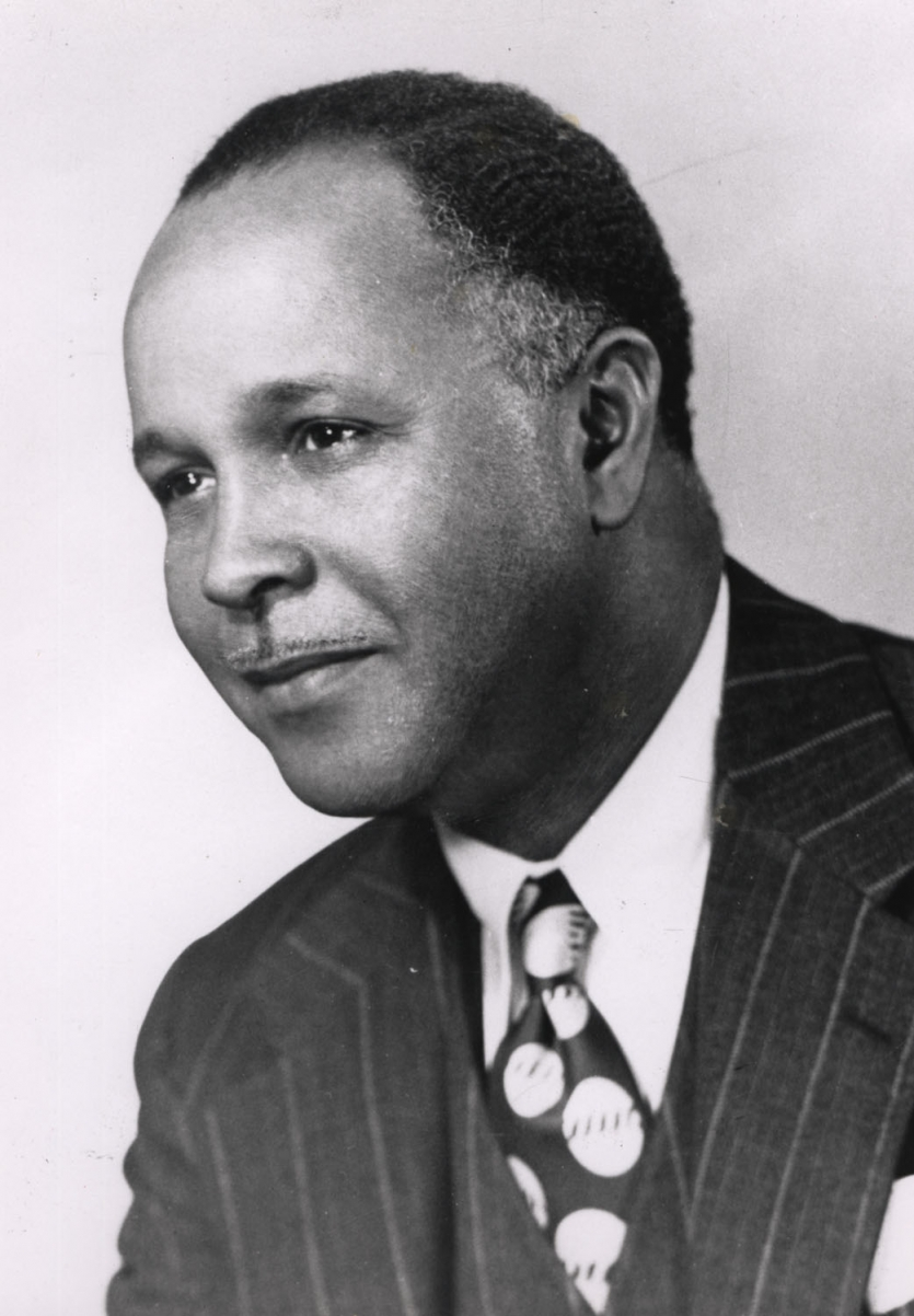 Percy Julian. Gift of Ray Dawson, the Institute Collections.