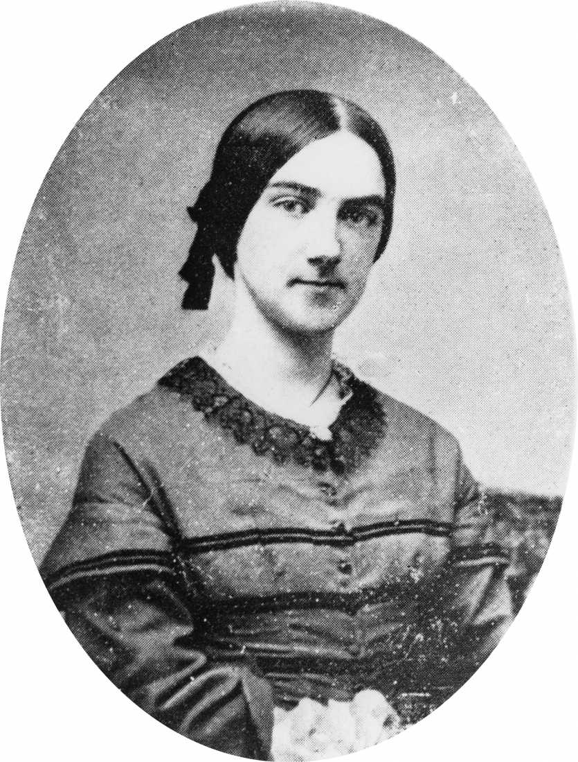 Ellen Swallow, about 1858. Courtesy MIT Museum.