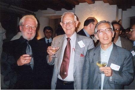 Left to right: Alan Heeger, Alan MacDiarmid, and Hideki Shirakawa.
