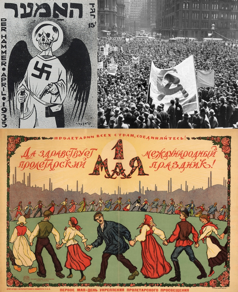 Anti-fascist art, Philadelphia Communist rally, Communist propaganda