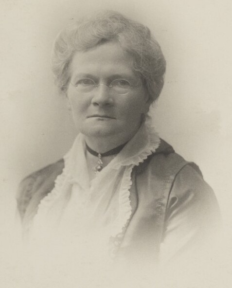Photograph of an older woman