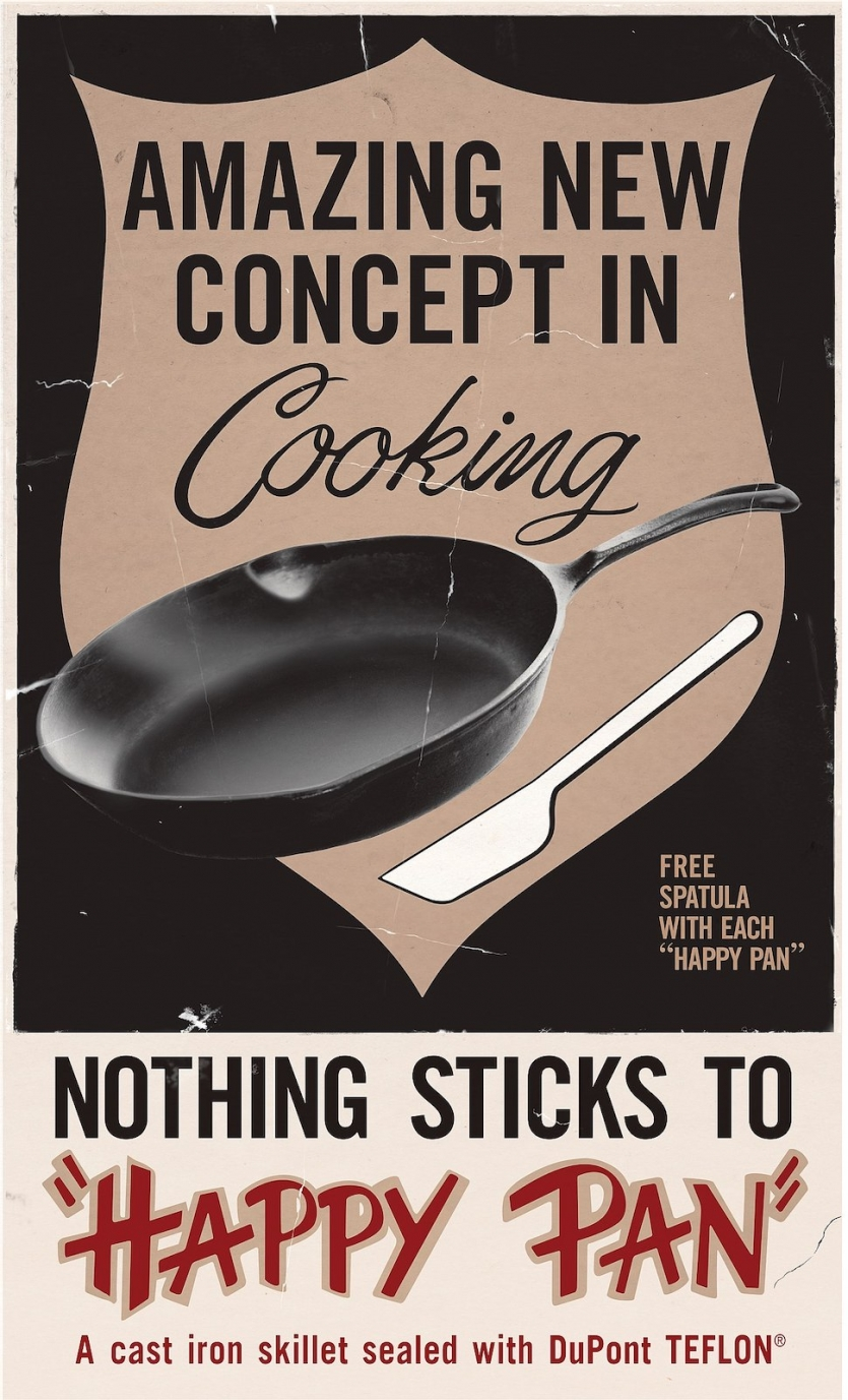 Ad for cookware