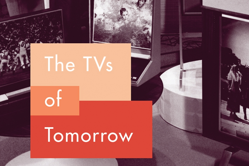 Book cover: TVs of Tomorrow