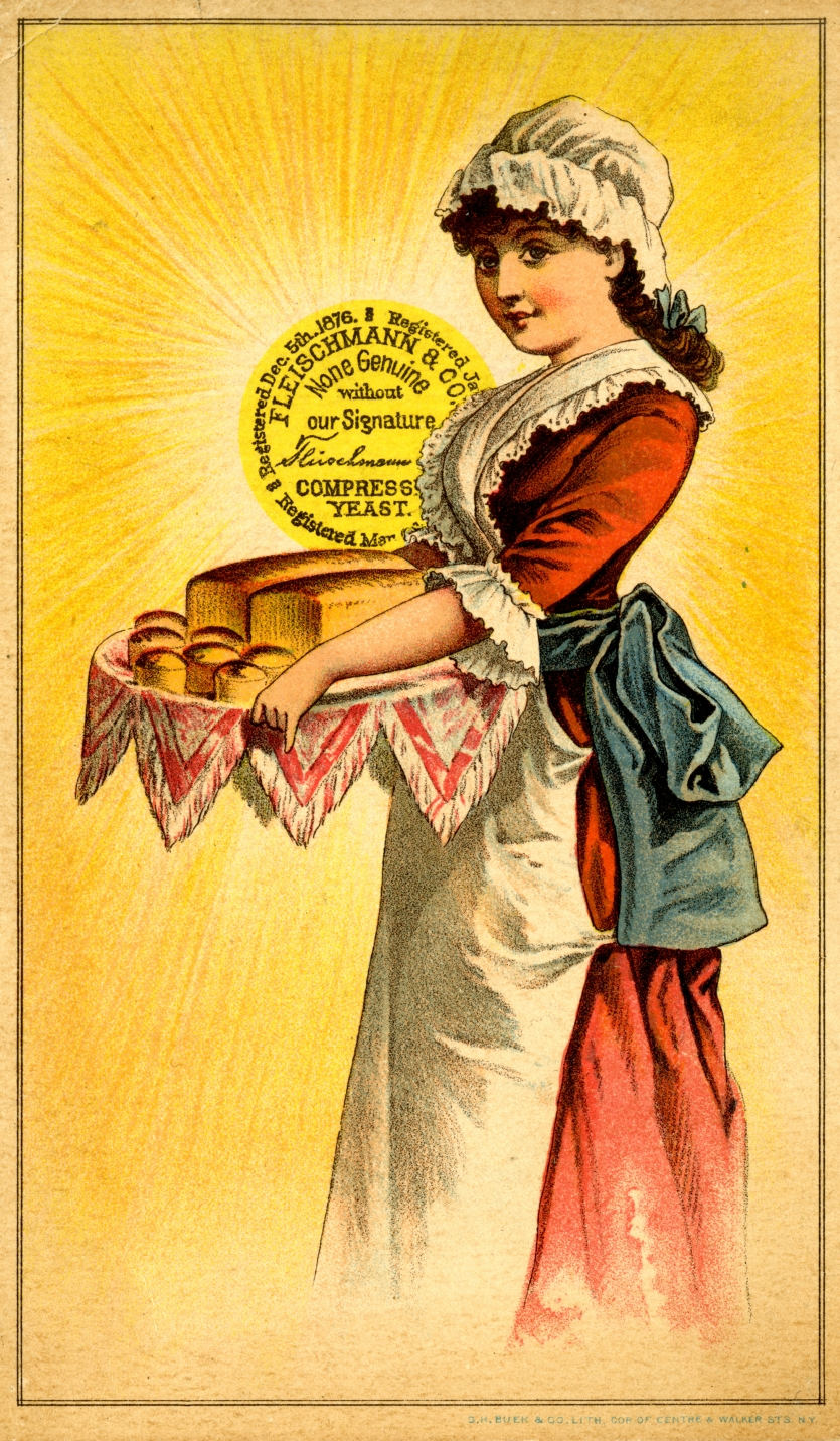 Fleischmann's Yeast Trade Card