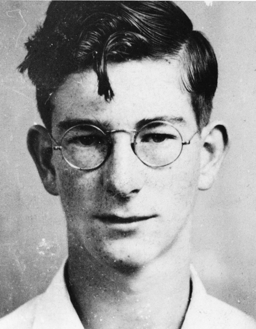 Woodward as a freshman at MIT.