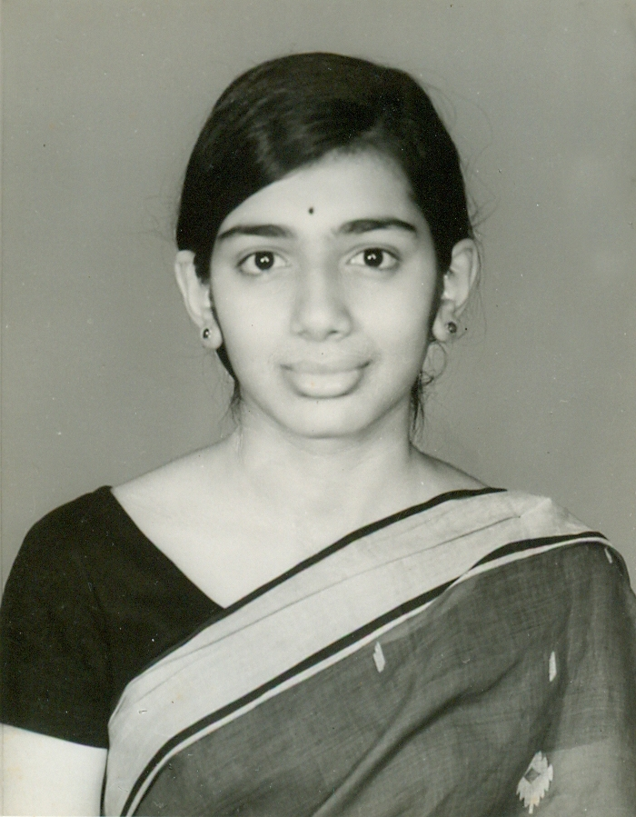 Kiran Mazumdar-Shaw as a young girl.